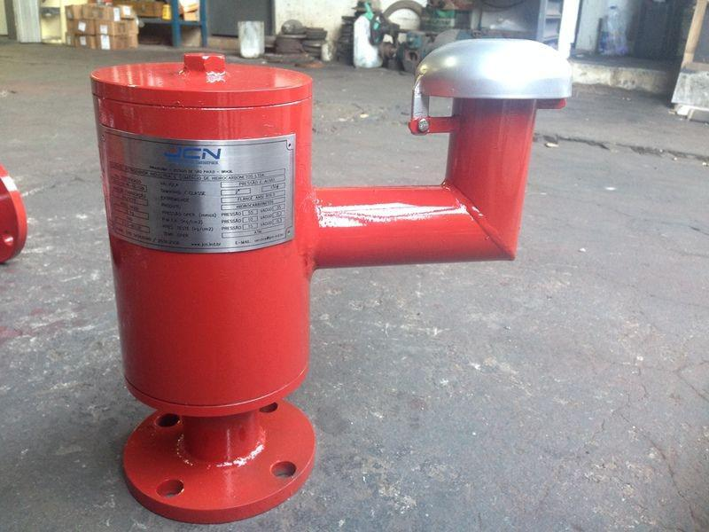 Válvula de alívio pressão e vácuo